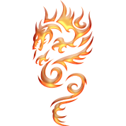 tribal-fire-dragon